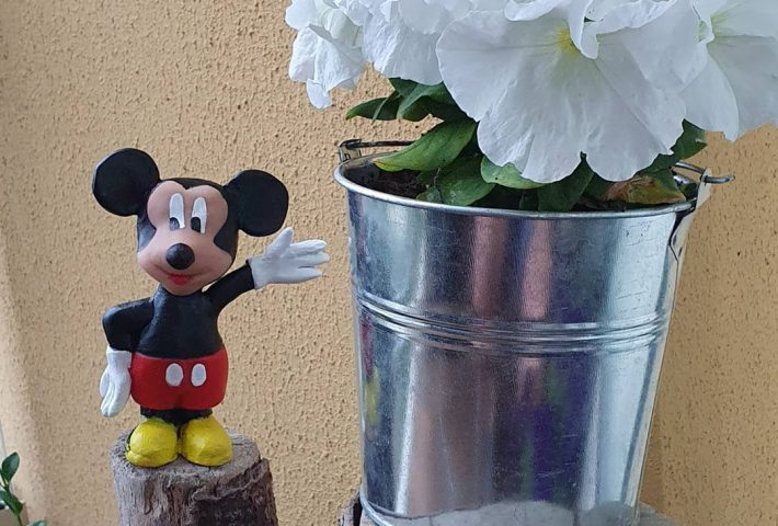Online Mickey Mouse Figurine Making Workshop