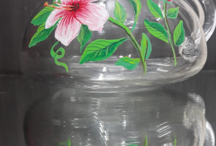 Mirror Glass painting