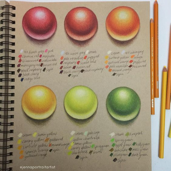Coloured pencils: Defining your palette