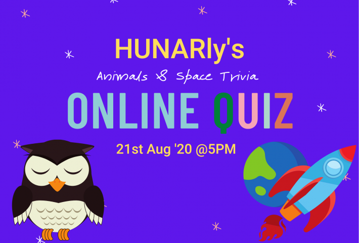 Amazing World of Animals & Space – Quiz