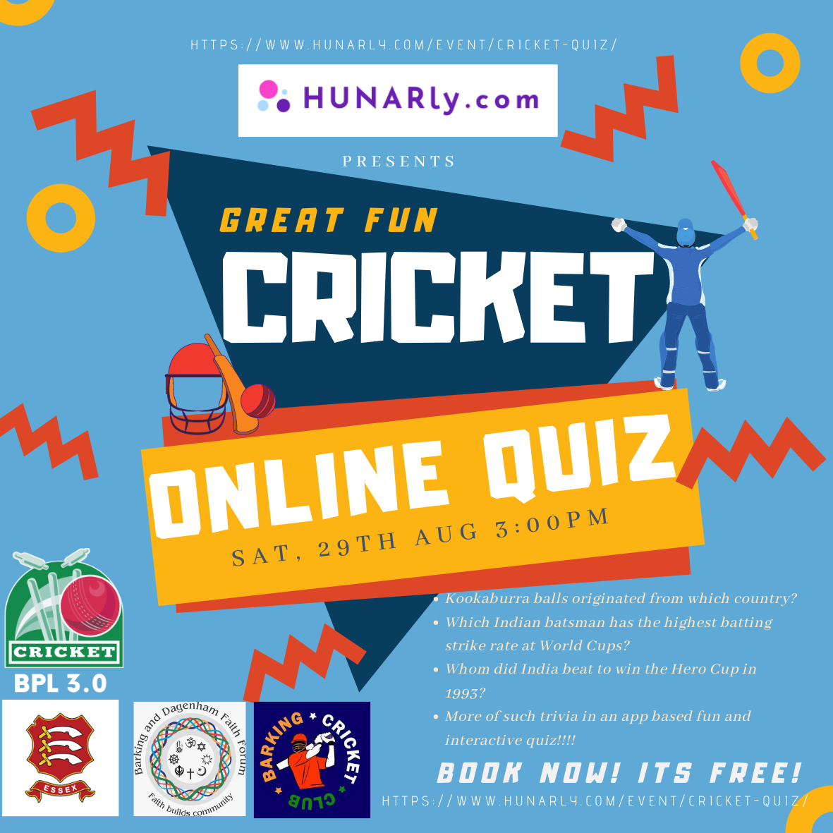 BPL 2020 Special Cricket Quiz