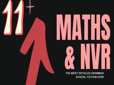 11+ Maths & NVR 301020