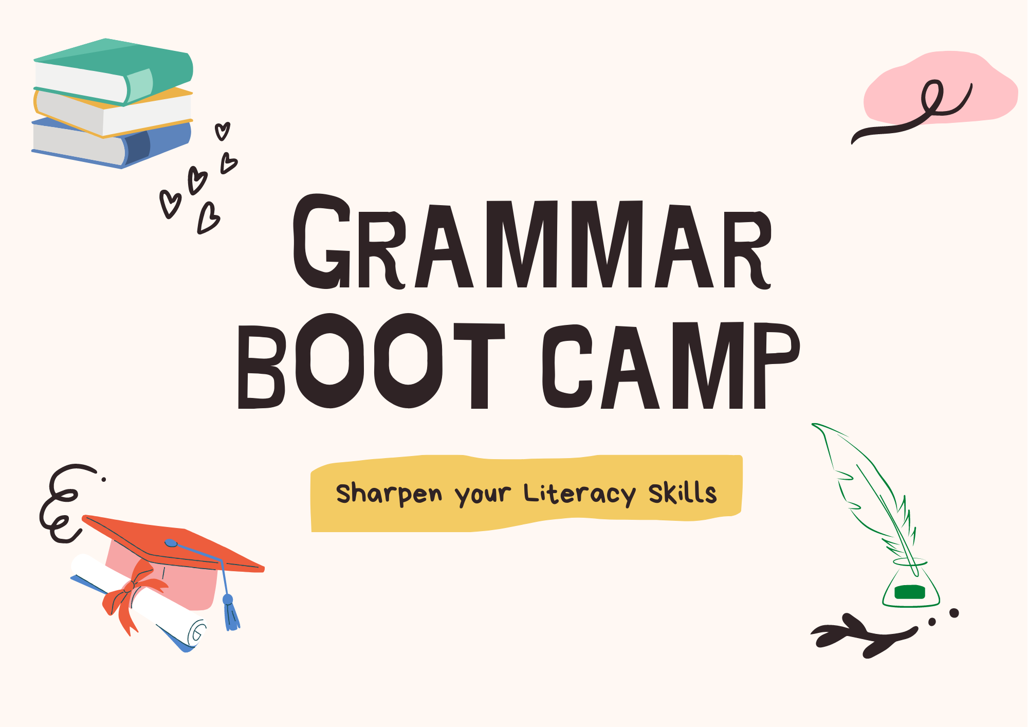 GRAMMAR Boot Camp (8 Lessons)