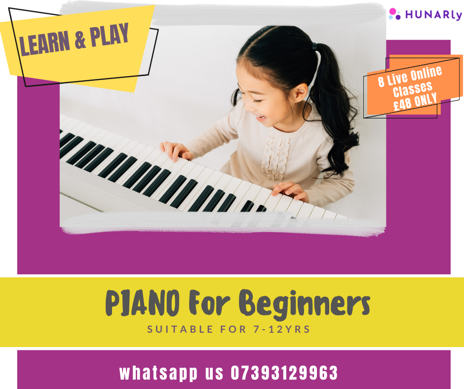 Piano For Beginners Programme (8 Lessons)