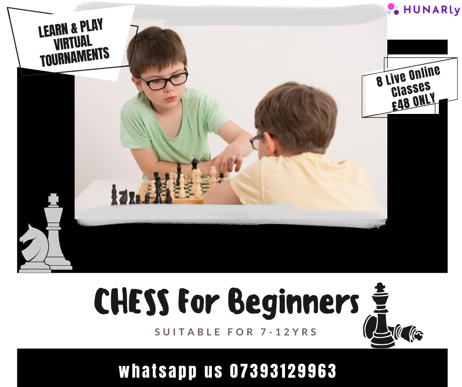 CHESS For Beginners Programme(8 Lessons)