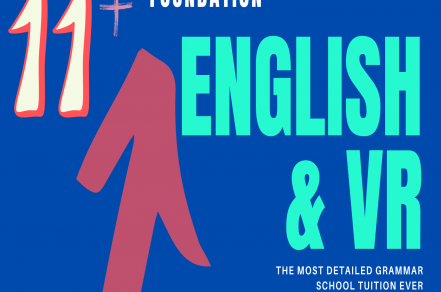 11+ Foundation – English & VR YR4