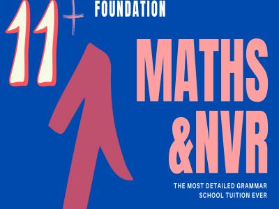 11+ Maths NVR Foundation 141120