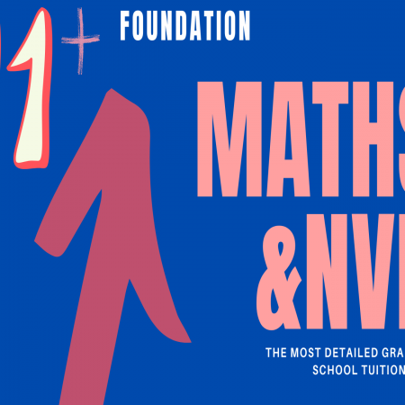 11+ Foundation – Maths & NVR YR4