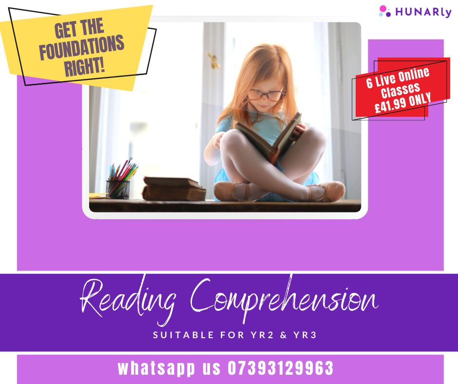 Reading Comprehension Foundation