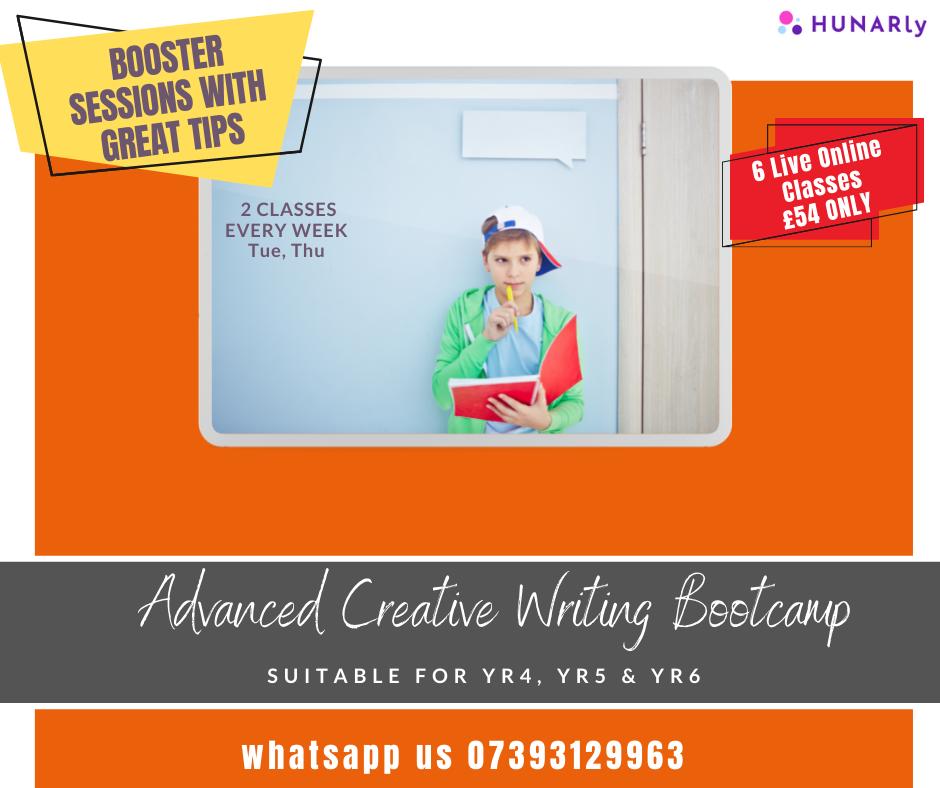 Creative Writing Advanced