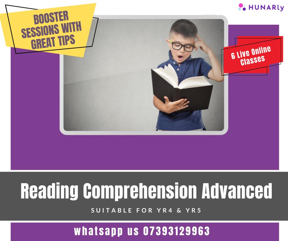 Reading Comprehension Advanced