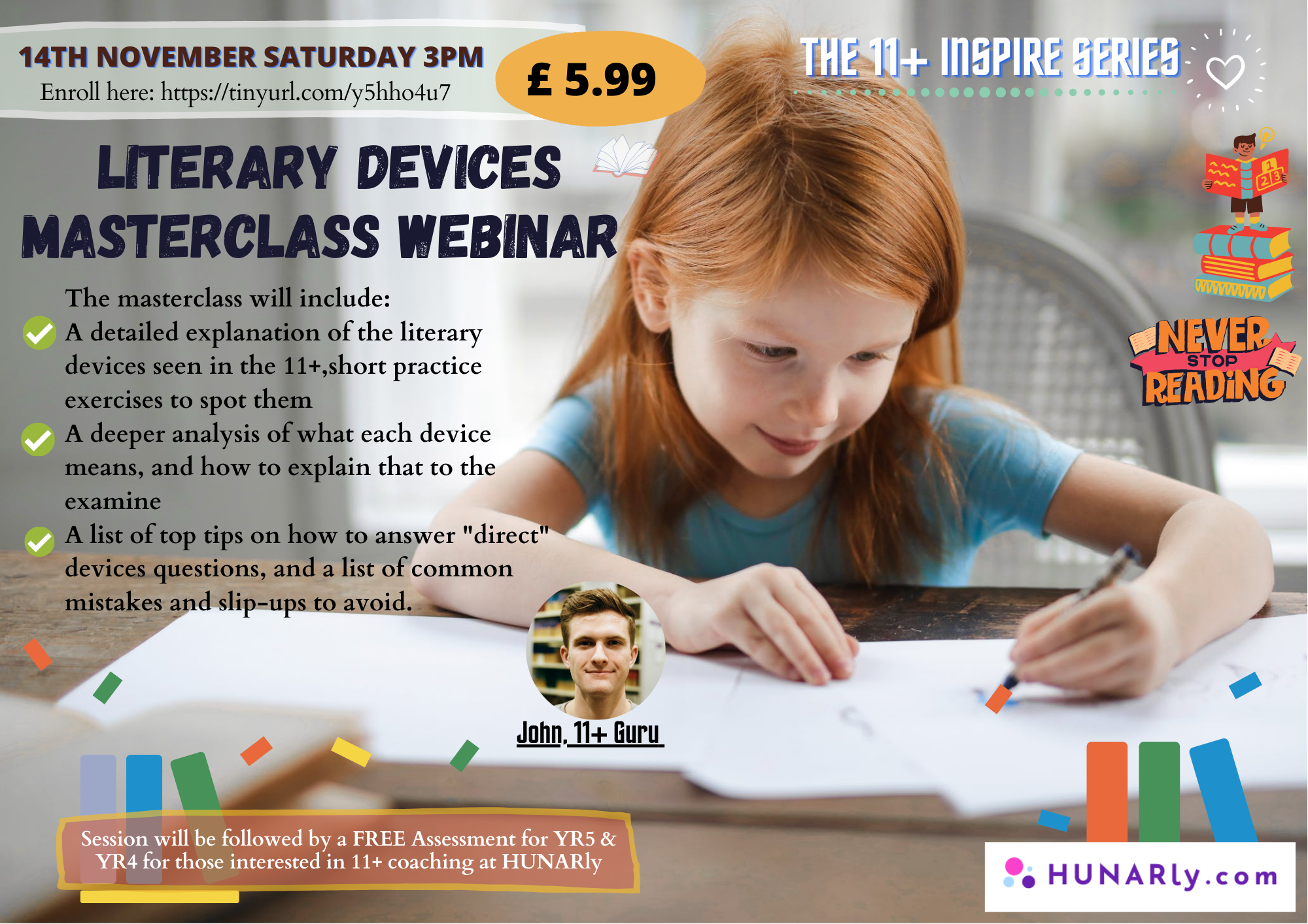 11+ Literary Devices Masterclass Webinar