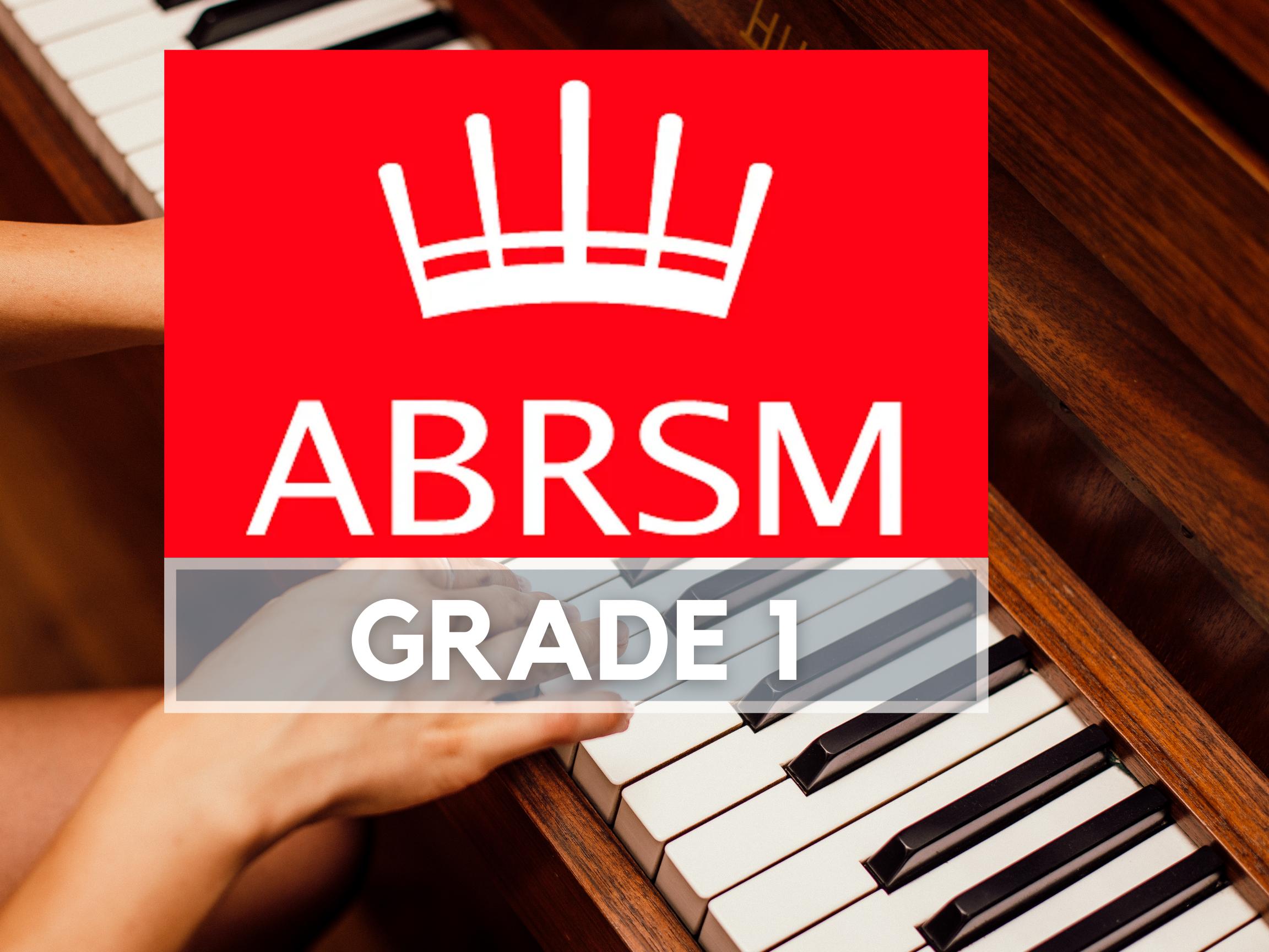 Piano ABRSM Grade1 Programme (16 Lessons)