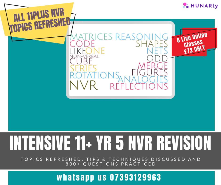 11+ Non-Verbal Reasoning Mastery Course