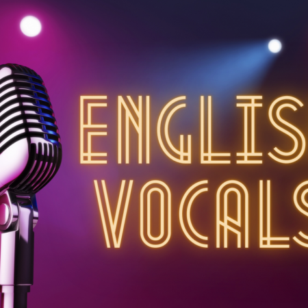English Singing Vocals Beginners (8Lessons)