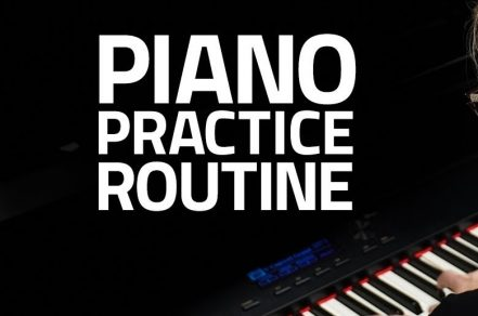 Piano Intensive Practice Routine