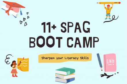 11+ Spelling, Punctuation & Grammar Bootcamp