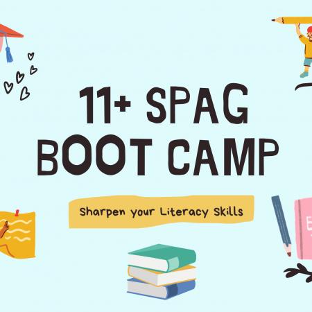 11+ Spelling, Punctuation & Grammar Bootcamp