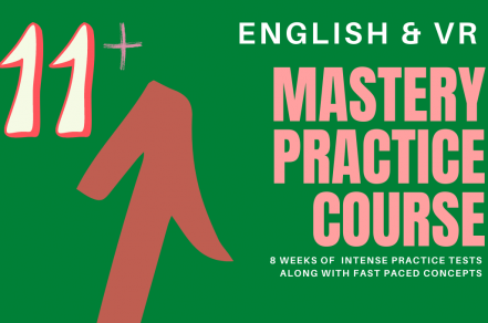 11+ Mastery Practice Course English and VR for YR 5