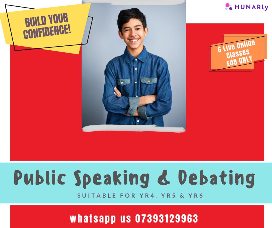 Public Speaking & Debating