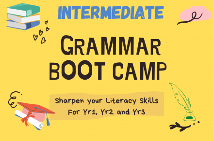 English Grammar Bootcamp(Intermediate)