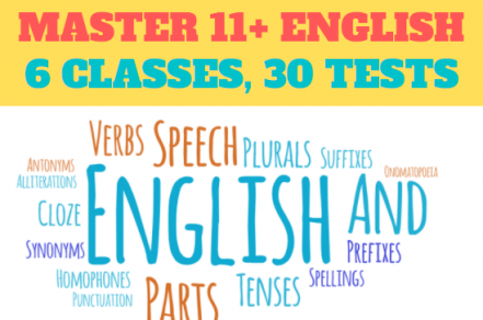 11+ English Mastery Course