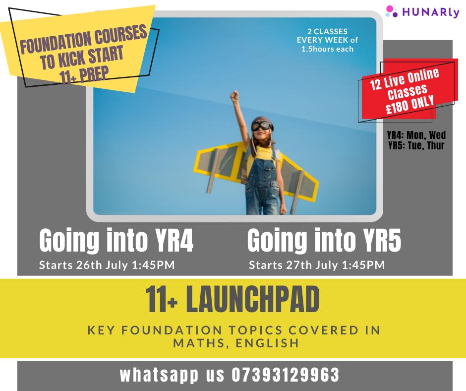11+ Foundation Maths & English Launchpad