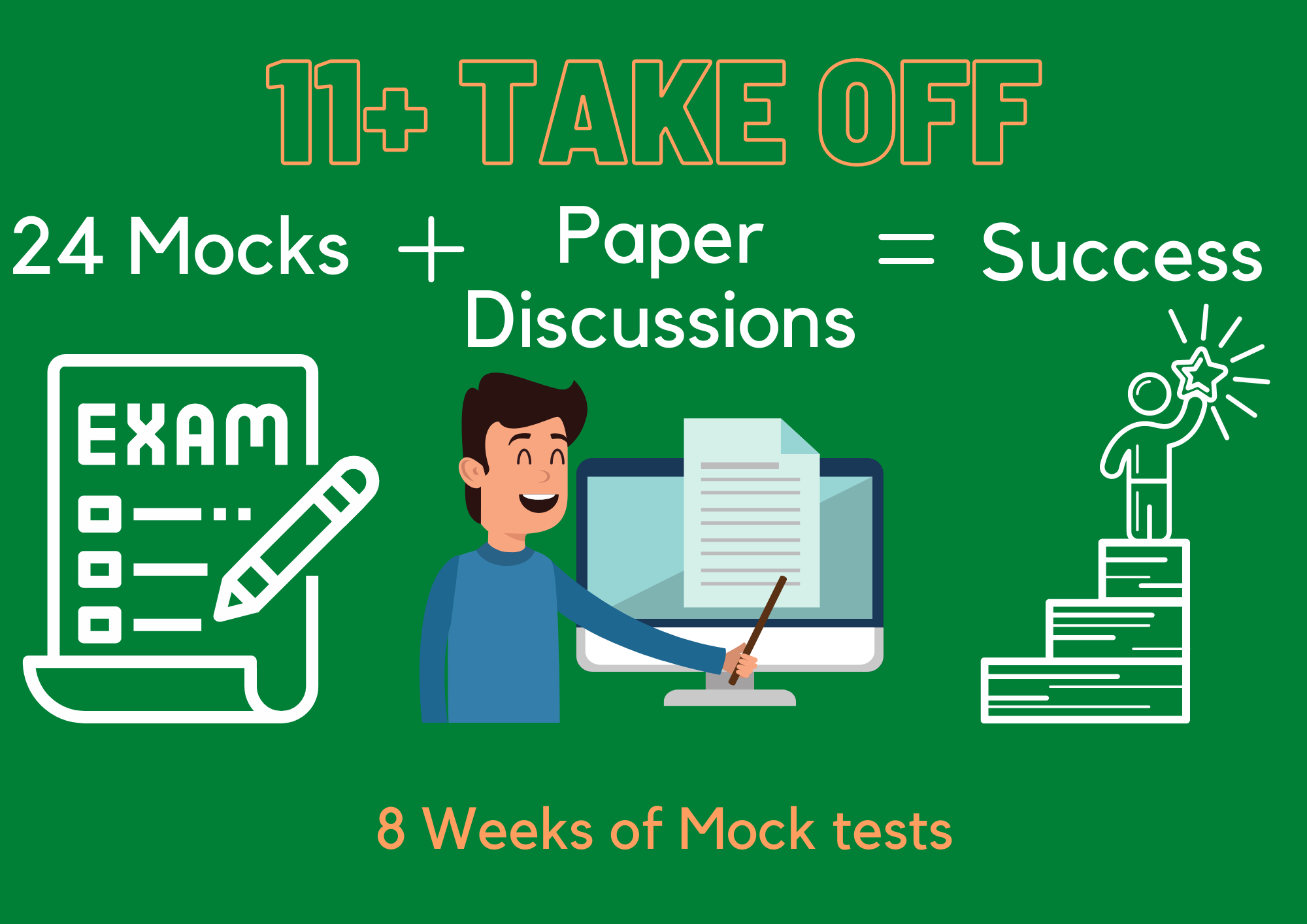 Take Off: 11PLUS Mock Tests + Paper Discussions